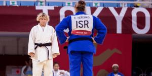 La judoca israelí Raz Hershko dijo que su rival saudí Tahani Al-Qahtani fue valiente al presentarse a su combate en los Juegos Olímpicos de Tokio
