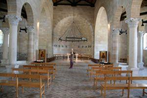 Vándalos roban una cruz fuera de una iglesia en el norte de Israel, donde los cristianos creen que Jesús realizó el milagro de los panes y los peces