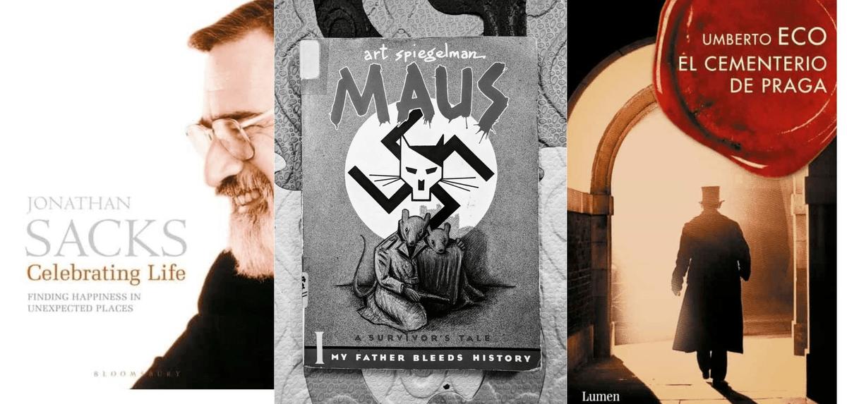 Irving Gatell nos hace tres recomendaciones de libros que hay que leer, relacionados con el judaísmo, aunque desde enfoques muy diferentes