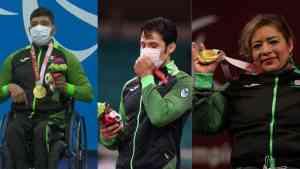 México obtuvo tres medallas más en los Juegos Paralímpicos de Tokio 2020 gracias al esfuerzo de Amalia Pérez, Jesús Hernández y Eduardo Ávila