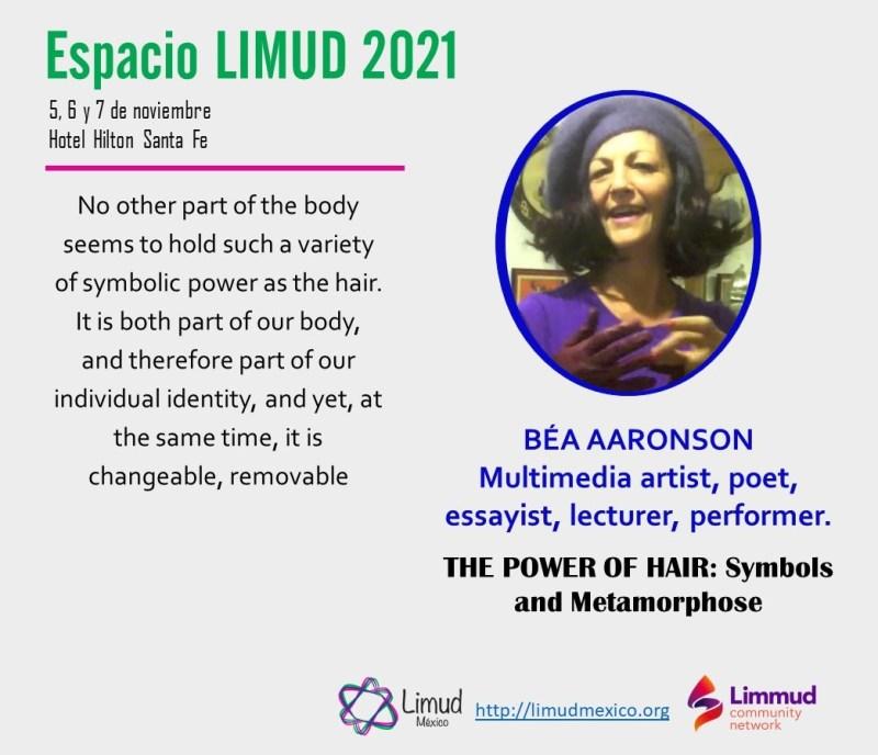 Bea Aaronson en Limud 2021