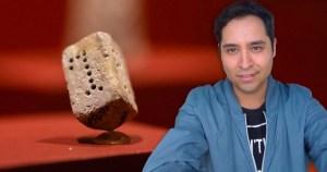Lo que para ojos no expertos puede ser una pirinola de piedra, para el historiador Luis Huitrón es una evidencia arqueológica de la vida de criptojudíos de la Nueva España.