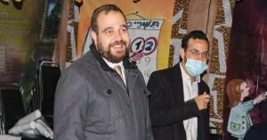 Rabino Chicurel y miembros del grupo Gesher
