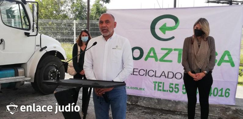 28-09-2021-RECOLECCION DE RESIDUOS ELECTRONICOS EN HUIXQUILUCAN KKL MEXICO 3