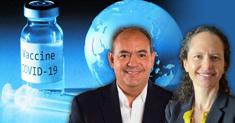 Carol Perelman y Francisco Moreno Sánchez hablan de terceras dosis y de combinación de vacunas