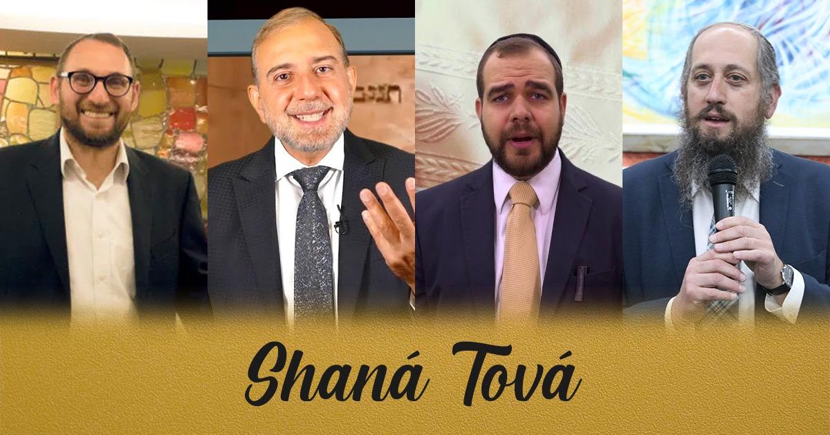 Los rabinos Leonel Levy, Abraham Tobal, Moisés Chicurel y Shai Frondlij nos dan sus mensajes para Rosh Hashaná 5782