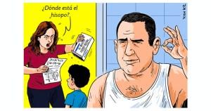 Una mujer que quiere hacer una prueba COVID-19 casera se enoja porque no encuentra el hisopo