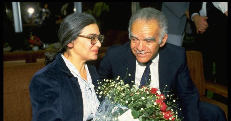 Ida Nudel es recibida en Israel por el entonces primer ministro Yitzhak Shamir