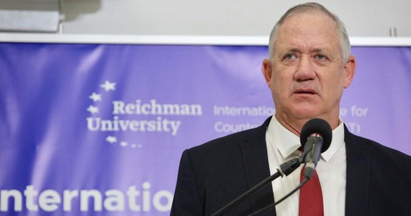 Ministro de Defensa de Israel Benny Gantz sobre Irán