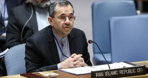 Representante de Irán ante la ONU