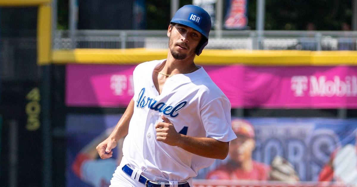 Jugador de la selección de beisbol de Israel