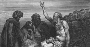 Ilustración de Gustave Doré del libro de Job