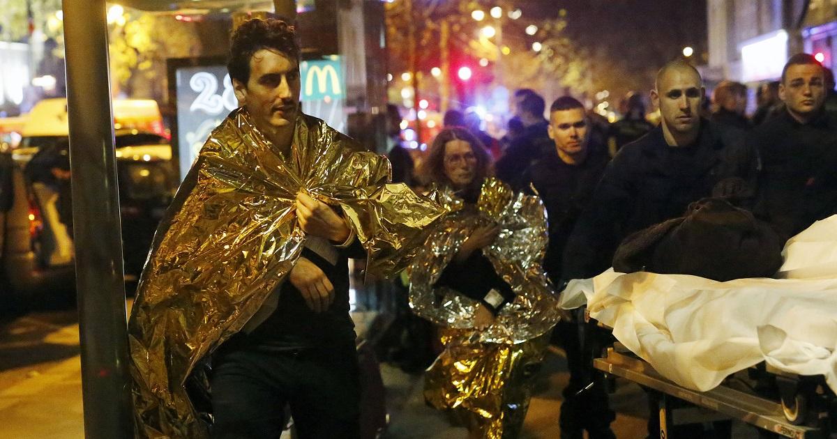 Imagen tomada el día del ataque terrorista en París en 2015