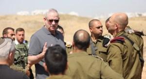 Ministro de Defensa de Israel, Benny Gantz-terrorristas fugitivos