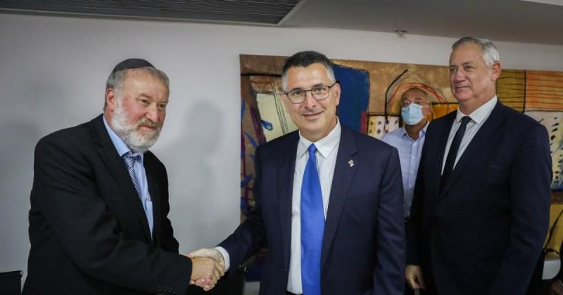Ministro de Justicia de Israel, Gideon Sa'ar- caso de los submarinos