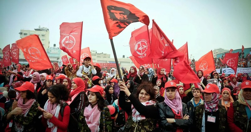 Partidarios del Frente Popular para la Liberación de Palestina (FPLP)