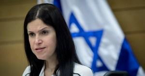Karin Elharrar, ministra de Energía de Israel