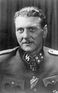 Otto Skorzeny, Obersturmbannführer (teniente coronel) alemán nacido en Austria en las Waffen-SS en la Segunda Guerra Mundial. (WikiCommons)