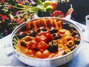 verduras rellenas con carne