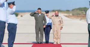 Comandantes de la Fuerza Aérea de Israel y de Emiratos Árabes Unidos