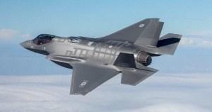 F-35 de la Fuerza Aérea de Israel