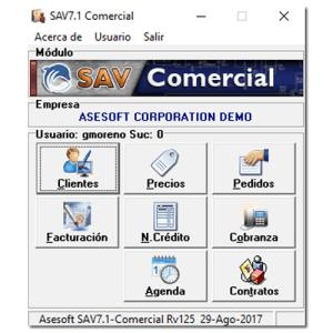 SAV-7 Comercial