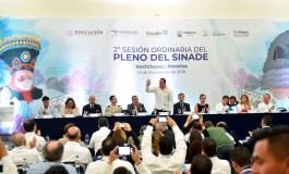 Apertura Cuauhtémoc Blanco segunda Sesión Ordinaria del SINADE 2019