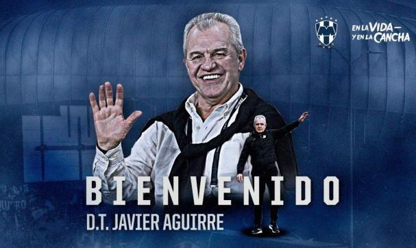 Rayados da la bienvenida al Vasco Aguirre