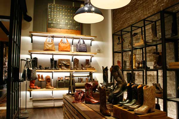 enlightenment Lighting Magazine reports on the Fry Boot Company's flagship store