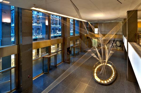 enLightenment magazine home lighting: lighting renovation of the MET Life