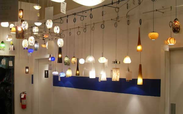 Ricci Sales Displaying LBL fixtures with manufacture colors & Ricci Sales: Transforming Lighting Sales