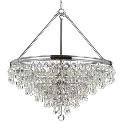 High Point Preview: Crystorama Calypso Chandelier 136-CH