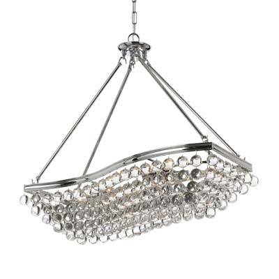 High Point Market Preview: Crystorama Calypso Chandelier 139-CH