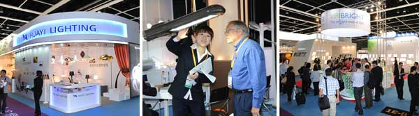 Hong Kong Int'l Spring Lighting Fair repothed on by enLightenment Home Lighting