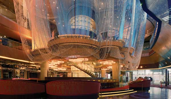The Chandelier Bar at the The Cosmopolitan