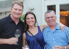 Bob Kinder, Teresa Deniz, and Bob Loving