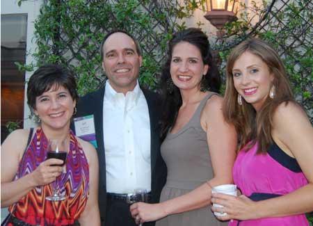 Melissa & Jeff Haberstroh of The Burlap Horse, Lindsey Villarreal & Lauren Henderson of DMC