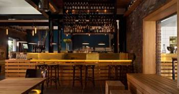 """The Hell of the North"" Parisian bistro Designed by Melbourne-based architectural firm SMLWRLD"
