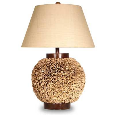 Palecek Water Hyacinth Table Lamp