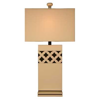 Bungalow Belt Vintage Linen Table Lamp
