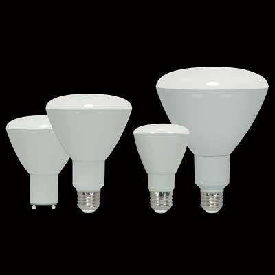 LED replacement for the incandescent reflector lamp
