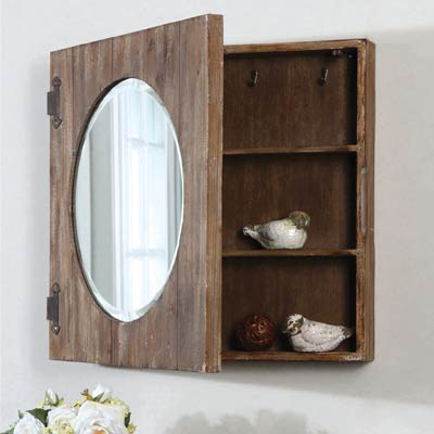 Residential Lighting: Uttermost - Multi Tasking Mirror