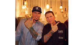 Vanilla Ice & Capitol Lighting Launch New Lighting Products