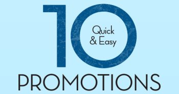10 quick easy in store promotions