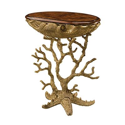 Theo-Alexander: Gilt Grotto table