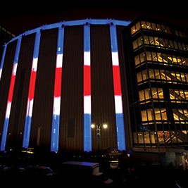 Philips LED Lighting-Madison Square-Garden