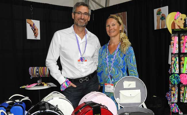 Harry and Heather Clark of Tiffany's Tools and Pomchies, respectively, met at a trade show, married, and run their two companies with a good amount of collaboration.