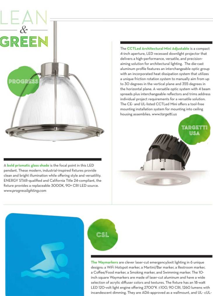 Home Lighting Green Products