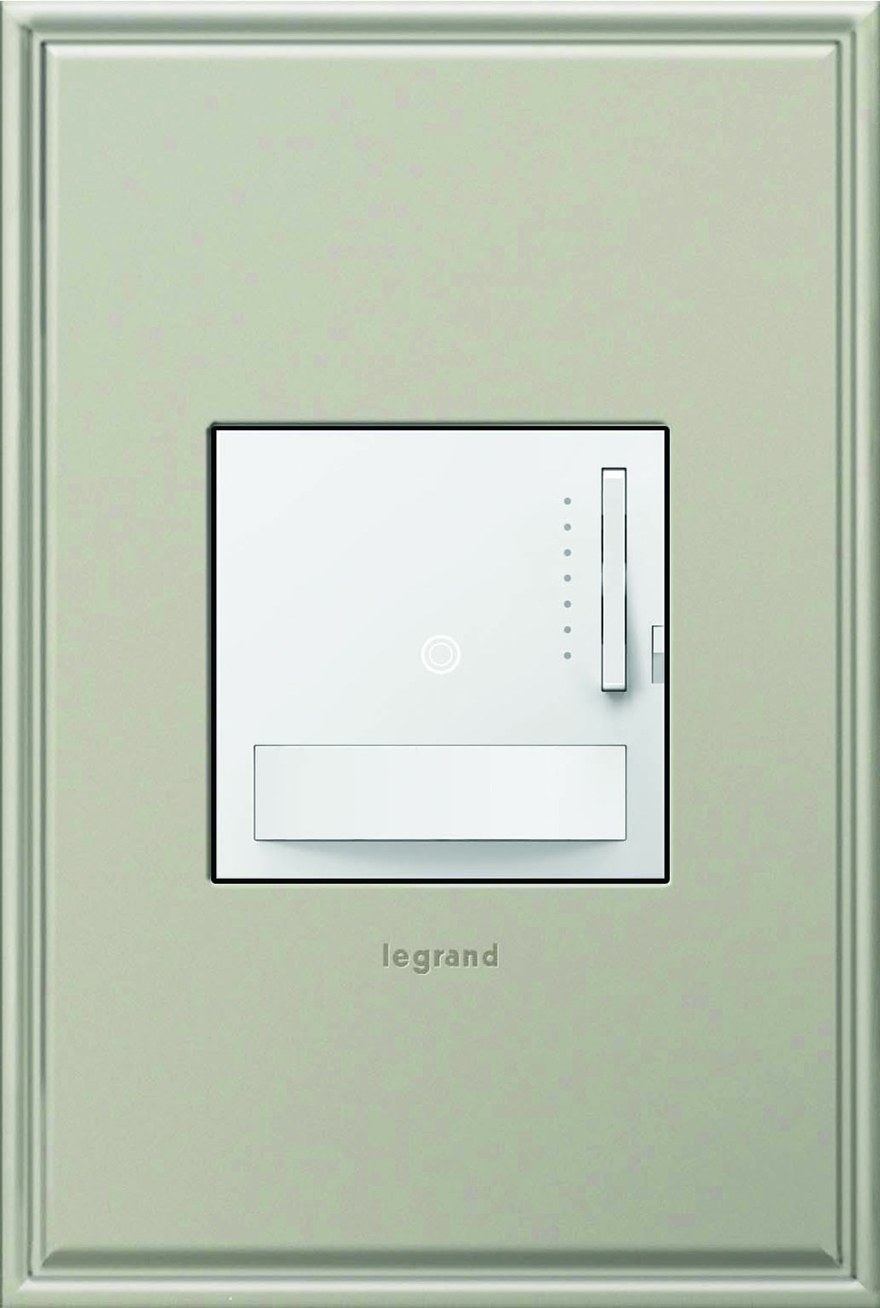 LARGER_Legrand Motion Sensor Dimmer with Nickel Wall Plate