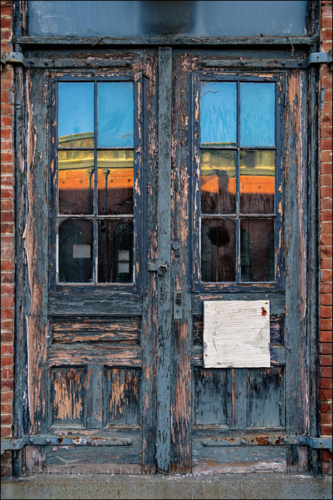 Image: Old doorway, Mare Island Naval Shipyard National Historic Landmark, Vallejo, California